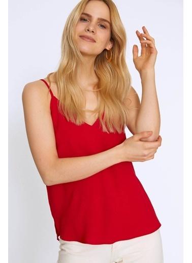 Quzu Bluz Kırmızı